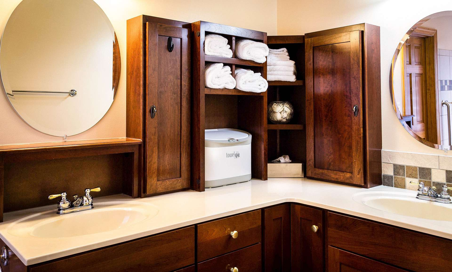 open bathroom shelves fto save money on your bathroom remodeling